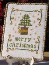A Tree and A Bell for Christmas cross stitch chart New York Dreamer