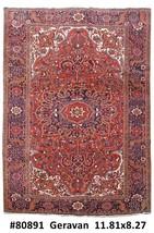 8x12 Heriz Haris Handmade Persian Natural Wool Rug - $2,041.67