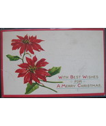 Sam Gabriel, Early Divided back, Embossed Christmas Postcard,  Best Wish... - $6.00