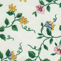 Longaberger Mothers Day Tea For Two Basket White Vine Fabric DI Liner Only 1999 - $12.82