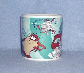 Applause Warner Bros.Taz Tasmanian Devil Mug Cup 1997 No. 41303