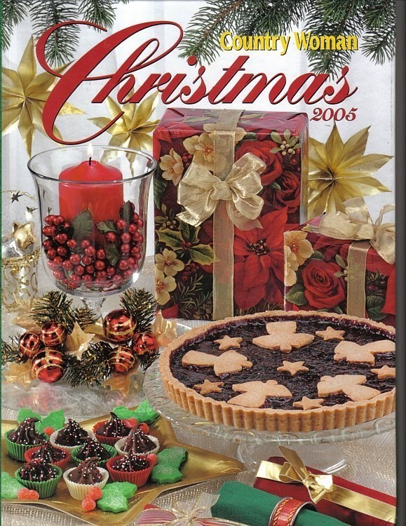 Country Woman Christmas 2005 Book Recipes and Crafts