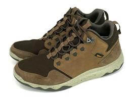 Teva Arrowood Lux Mid Waterproof Hiking Boots Brown Suede Sneakers Men's... - $49.95