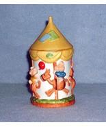 Hallmark Snortles Carousel Collectible Bisque Porcelain Trinket Box 1982 - $4.99