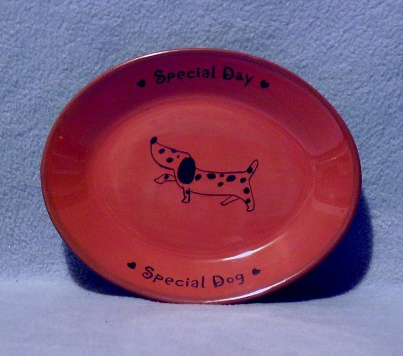 Hallmark Special Day Special Dog Oval Dish Plate