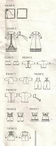 "Vogue Pattern 2592 Baby Doll Wardrobe 13""-15"" / 18""-20"" Uncut"