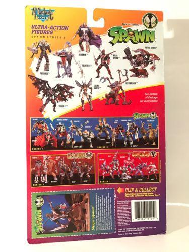 Ninja Spawn Mcfarlane Toys Series 3 Official Action Figure Toys
