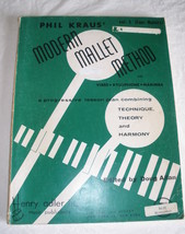 Modern Mallet Method - Kraus - Vol. 3 - Four Mallet Study - $6.85