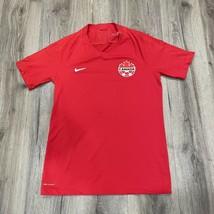 Nike VaporKint Canada Soccer Mens II Team Jersey Small Red AQ2674-657 - $27.62