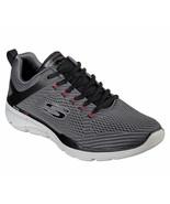 52927 EW Extra Wide Charcoal Skechers shoe Men Memory Foam Mesh Sport Co... - $47.99