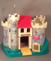 Vintage Fisher Price Little People Play Family Castle 993 Building Only - $38.69