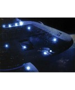 Star Trek Next Generation Starbase 74 Lighted Stretched 12 x 16 Canvas W... - $29.02