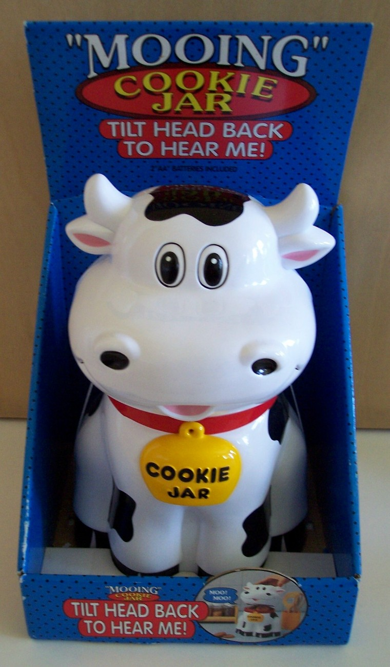 Original Mooing Cow Novelty Cookie Jar New Other