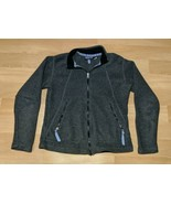 Patagonia Synchilla Gray Fleece Full Zip Women Jacket Size Small Made in... - $29.69