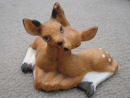 Fabrizio George Good Deer Fawns Figurine 1986 - $9.99