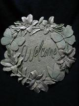 Butterfly Lillies Garden Welcome Stepping Stone NIB - $9.99