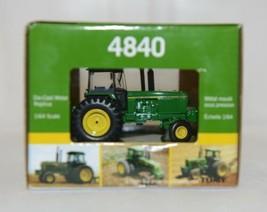John Deere LP51304 Authentics 5 Die Cast Metal Replica 4840 Tractor image 2