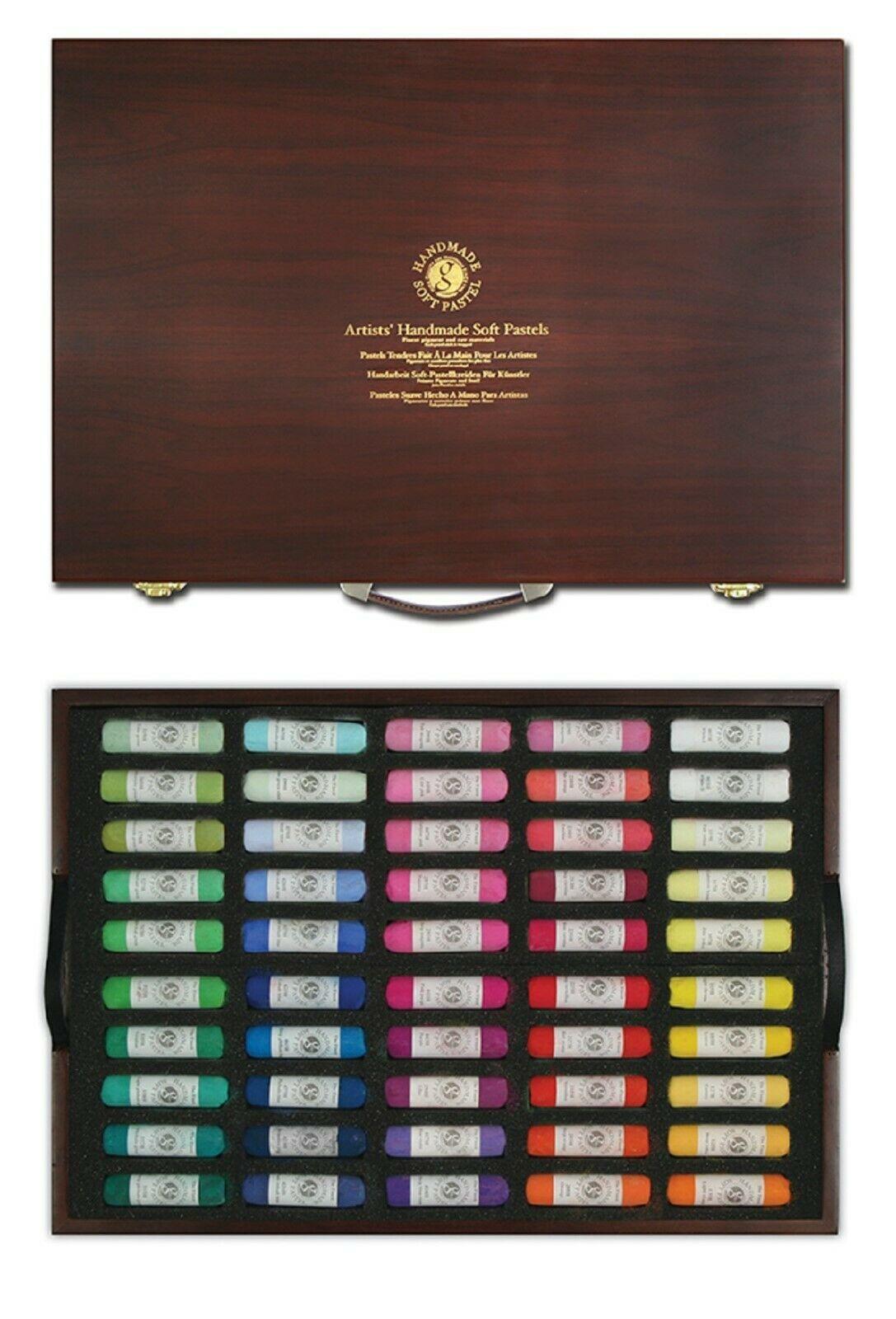 Mungyo Artists Handmade Soft Pastels 100 Colors Set image 3