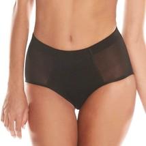 Women's Fullness Silicone Buttocks Butt Shaper Lifter Panty Black #7010 image 2