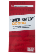 Over-Rated - The Adult Party Game Where You Compete to Review Absurd Loc... - $34.64