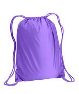 "Liberty Bags 8881 Small 14"" x 18"" Lavender Boston Drawstring cinch backp... - $6.19"