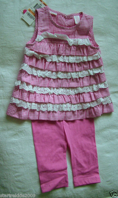 First Impressions Baby Girl 2Pc Dress/Leggins Set,12 Mo