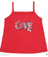 "Levi's Baby Girls Knit Top ""LOVE"", Red Color, Sz.12 Mo - $9.99"