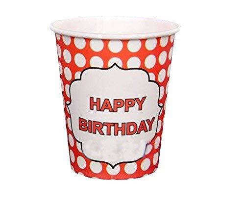 PANDA SUPERSTORE Kids Disposable Birthday Party Dinner Paper Cups&Party Supplies