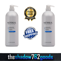 Nexxus Step 1 Therappe Moisturizing Shampoo Salon Hair Care 44 fl oz 2-P... - $58.33