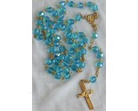 Turquoise crystal rosary thumb155 crop