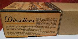 Vintage Ingraham Utility Alarm Clock Paper Box Container image 5