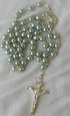Greenish gray rosary