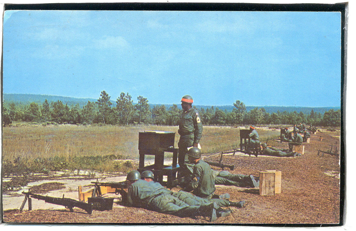 Argentan Machine Gun range Fort Jackson South Carolina  1.20