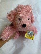 "7"" Ganz Webkinz Pink Poodle HM107 Plush Stuffed Animal W Used CODE Clean... - $14.85"