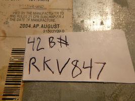 05-09 Chrysler Dodge RAK Radio 6 Disc Cd Mp3 Cassette Player P05091523AH RKV847 image 4