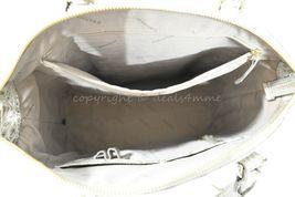 NWT Brahmin Large Leather Duxbury Satchel/Shoulder Bag in Silver Birch Melbourne image 5
