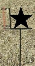 Star Rain Guage - Rustic Metal Cabin Lodge Garden Yard Decor - $38.00