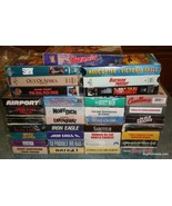 Lot Of 35 VHS Classic Old Movies Casablanca Platoon Moby Dick Iron Eagle... - $38.79
