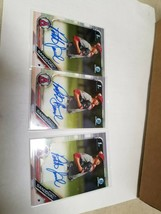 Lot of 3 2019 Bowman Chrome 1st Patrick Sandoval Angels Auto #CPA-PS #S50 - $28.50