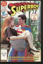 Superboy The Comic Book #1 Dc Comics As Seen On Tv 1989 Fine+ Or Better - $5.00