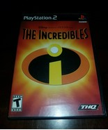 Disney Pixar The Incredibles Black Label PlayStation 2 PS2 EXMT **Inv030... - $15.43