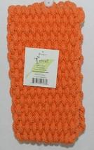 Shaggies Trivet 113333 Color Orange Handmade 100 Percent Cotton image 1