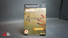 PS2 Playstation2 Resident Evil 4 Game Limited Edition Steelbook FAST FRE... - $31.38