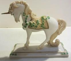 The Franklin Mint  Shamrock Cream Unicorn David Cornell - $36.72