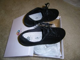 Cloudsteppers By Clarks Lace-up Sneakers - Sillian Glory Black 9W Nib - $39.60