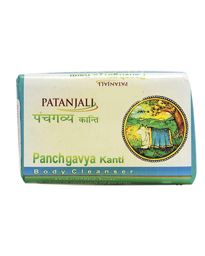 PATANJALI PANCHGAVYA KANTI BODY CLEANSER/Bar Soap - (150GM)