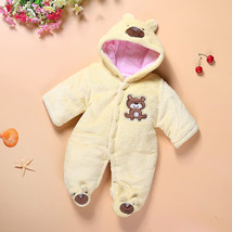 Newborn baby rompers Cotton Cute Animal Dog Bear Rabbit baby girl clothe... - $30.15 CAD+
