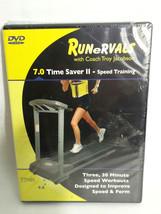 Runervals 7.0 Time Saver II - Speed Training Treadmill Running DVD Workout  - $18.66
