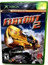 FlatOut 2 (Microsoft Xbox, 2006) - $8.90