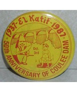 Grand Coulee Dam El Katif 50th Anniversary Pin Button - $6.69